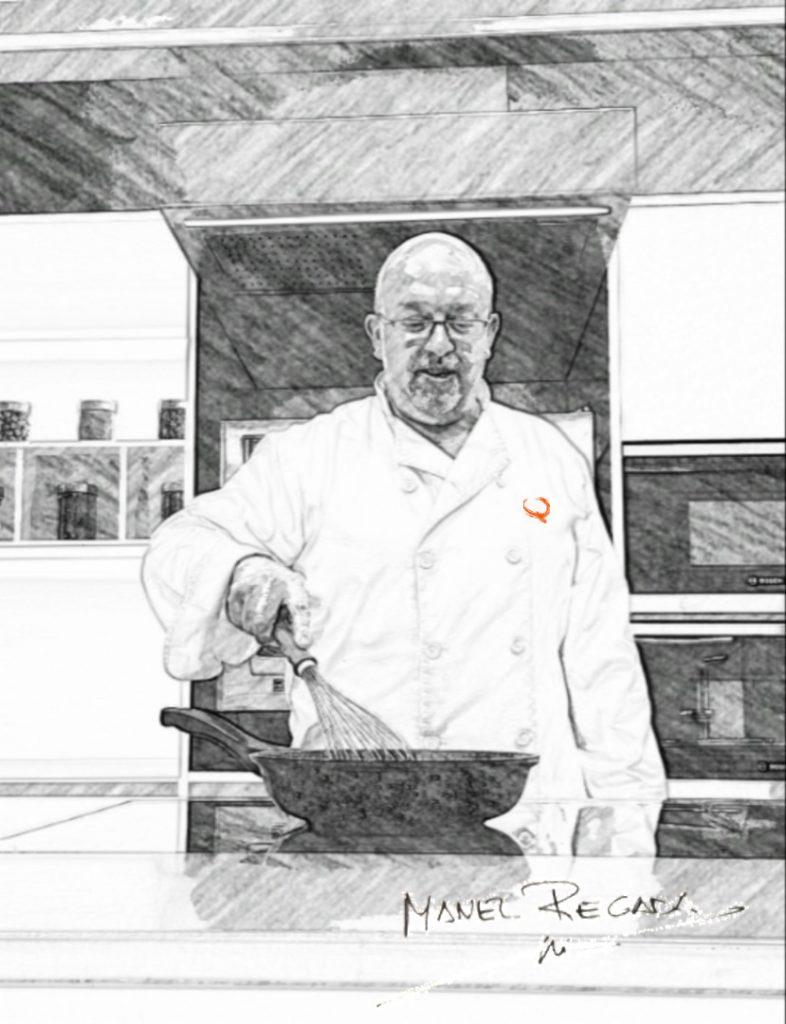 Chef Manel Regada Exquisitarium