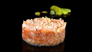 Tartar de salmon