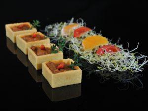 Tartaleta de chili con carne