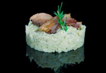 Trinxat de la Cerdanya avec du bacon