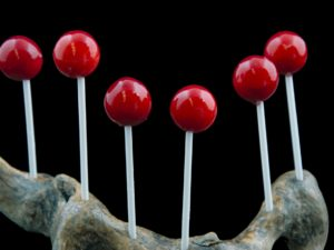 Lollipop de idiazabal