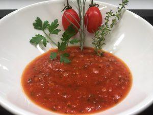 Sauce pour les pates a la sauce tomate