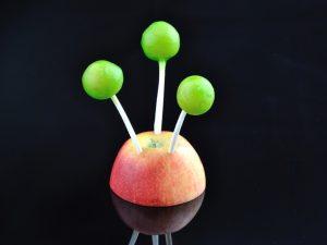 Mojito lollipop