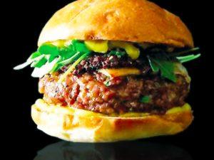 Mini iberian hamburgers