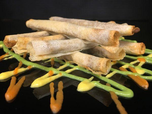 Mushroom with tartufata sticks