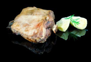 Shoulder of lamb confit